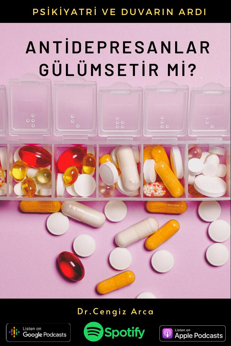 Antidepresanlar Gülümsetir Mi?